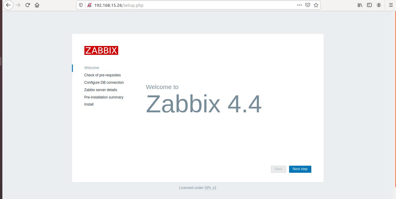 Instalação do Zabbix 4.4 Ubuntu 18.04