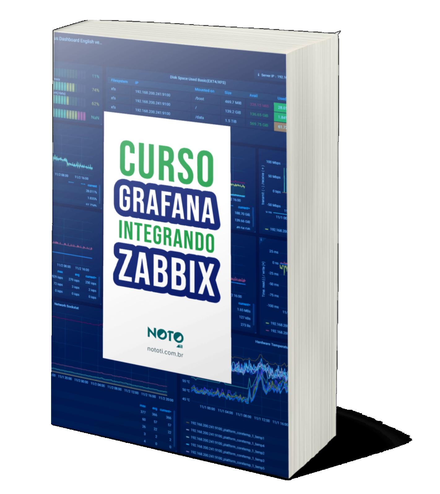 grafana integrado com zabbix