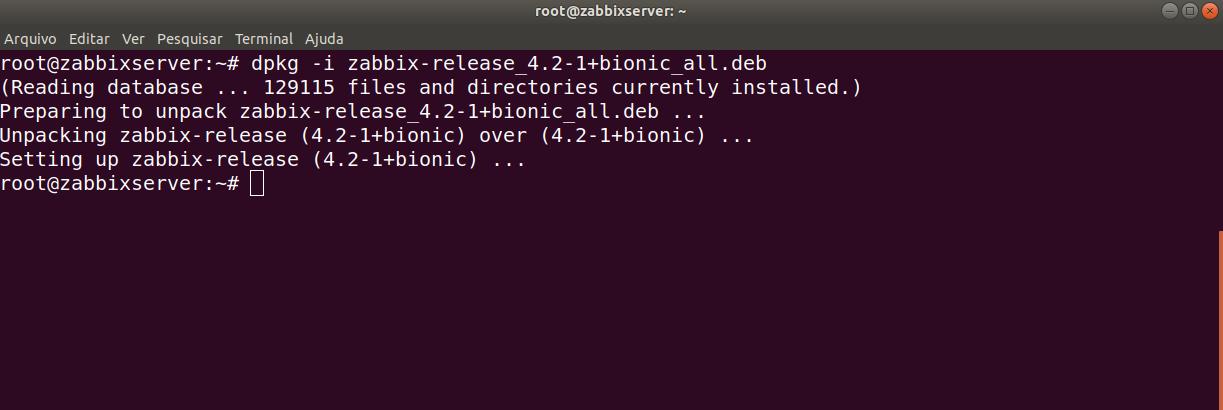 instalação zabbix ubuntu tutorial