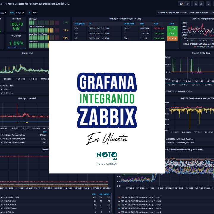 Grafana – Instalação e Integração com Zabbix em Ubuntu Server 18.04