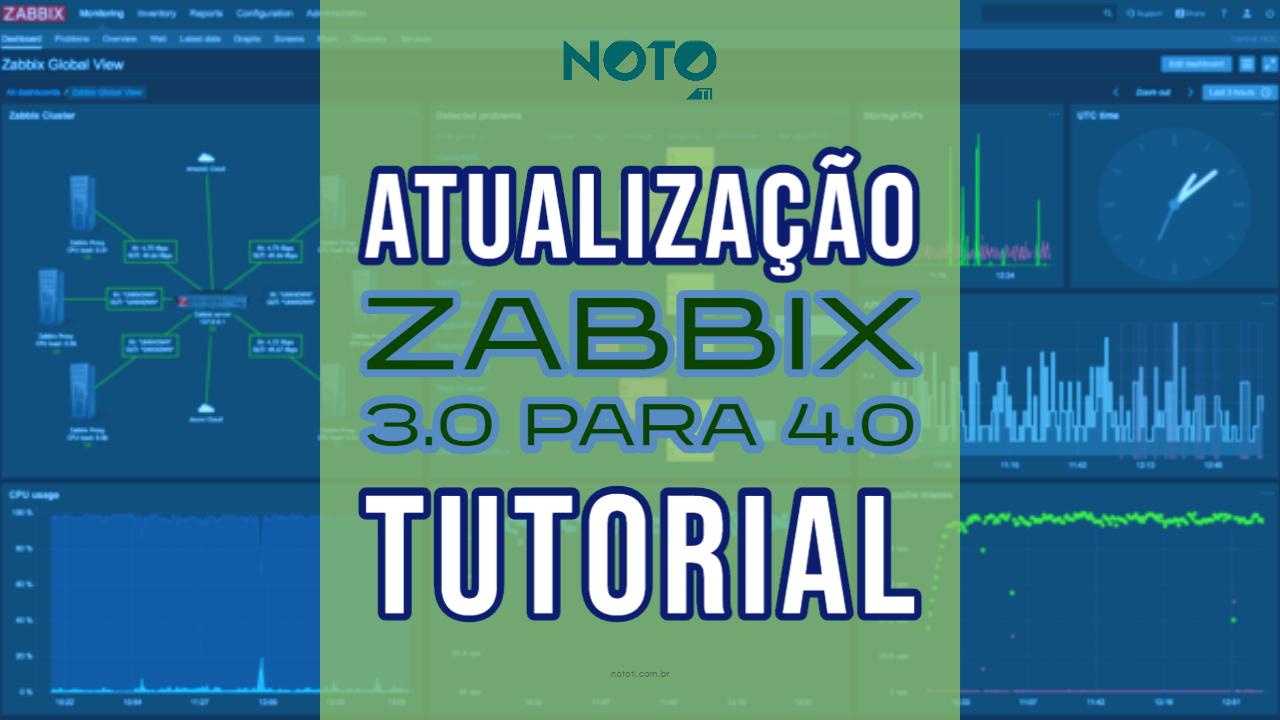 atualização Zabbix 3.0 para 4.0