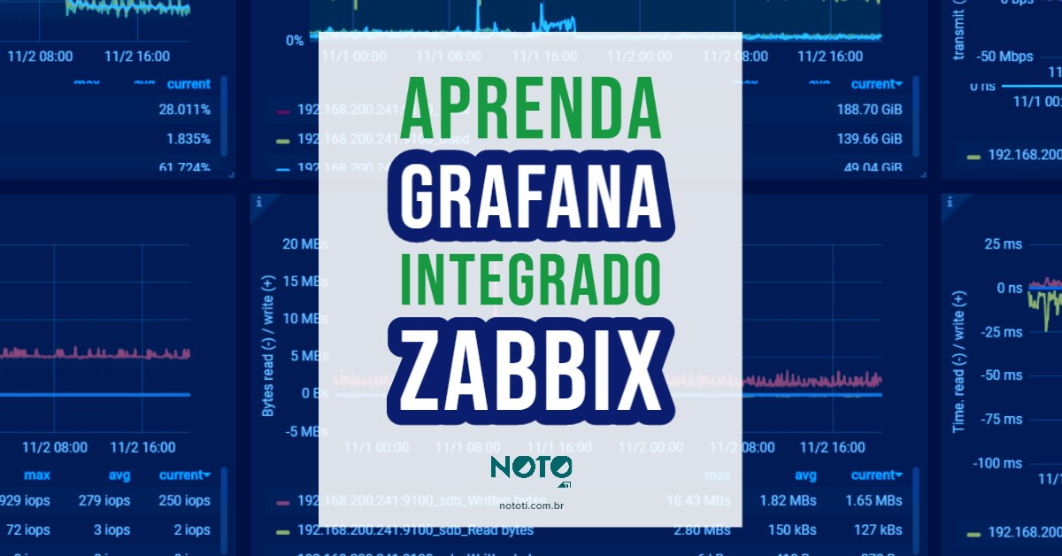 grafana integrado com zabbix