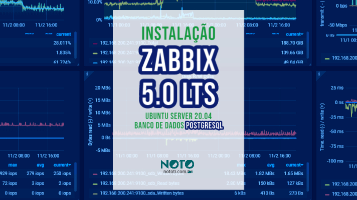 Instalação Zabbix 5.0