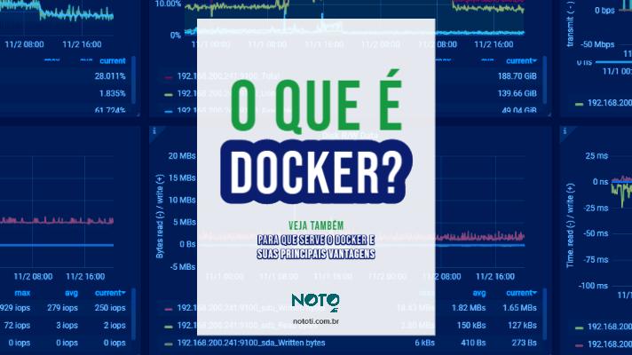 O que é Docker, quais seus usos e vantagens. Confira aqui