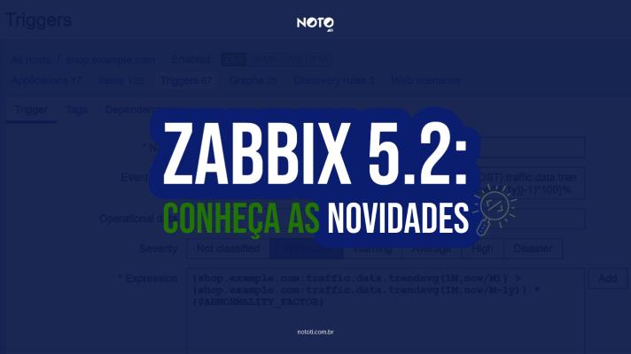 novidades zabbix 5.2