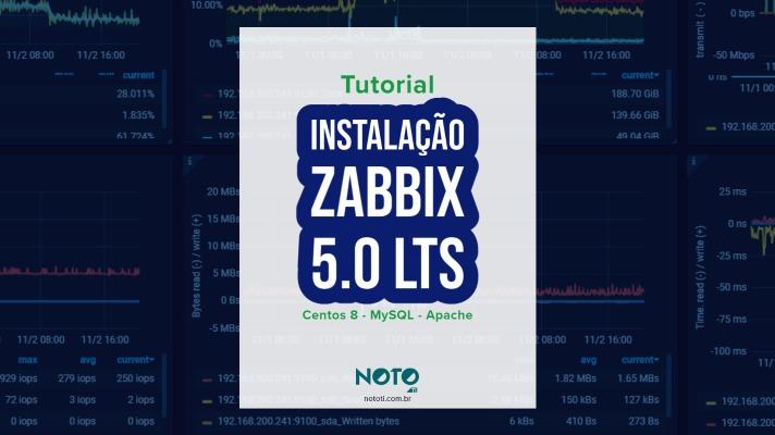 instalação zabbix 5 tutorial