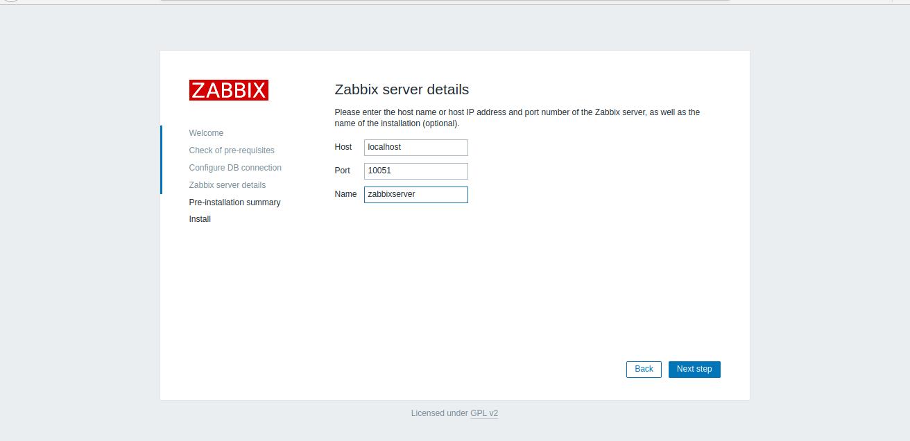 Instalação Zabbix 5