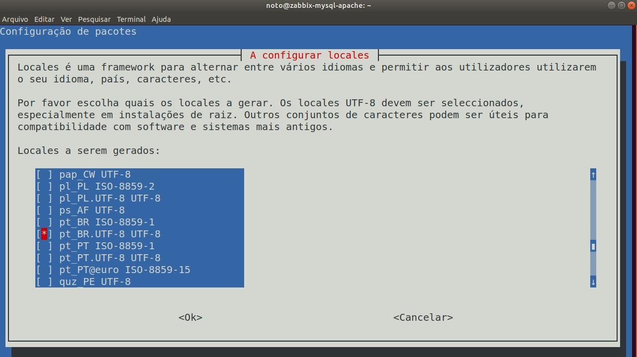 Zabbix Debian MySQL Nginx